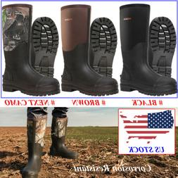 men s muck mud boots insulated breathable