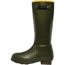 MEN'S LACROSSE RUBBER OD GREEN BURLEY CLASSIC HUNTING BOOTS