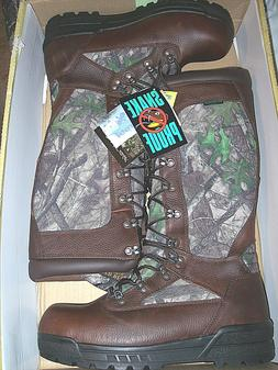 Mens Snake Proof Boots Waterproof Boots Camo Hunting Boots L