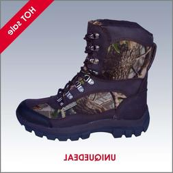 NEW *KINGSHOW* MENS SNOW WINTER HUNTING BOOTS WATERPROOF CAM