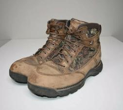 """Danner Pronghorn 6"""" Boots Mens 11.5 Mossy Oak Camo Hunting G"""
