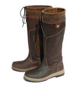 Rhinegold Vermont Waxy Leather Ladies Waterproof Yard Countr