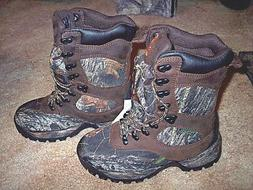 Womens 6 R Camo Hunting Boots Water Proof 400 G Insulated Hi